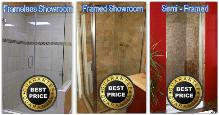 Houston Frameless Showerdoors Shower Doors Semi Framed Www Mrglmirror